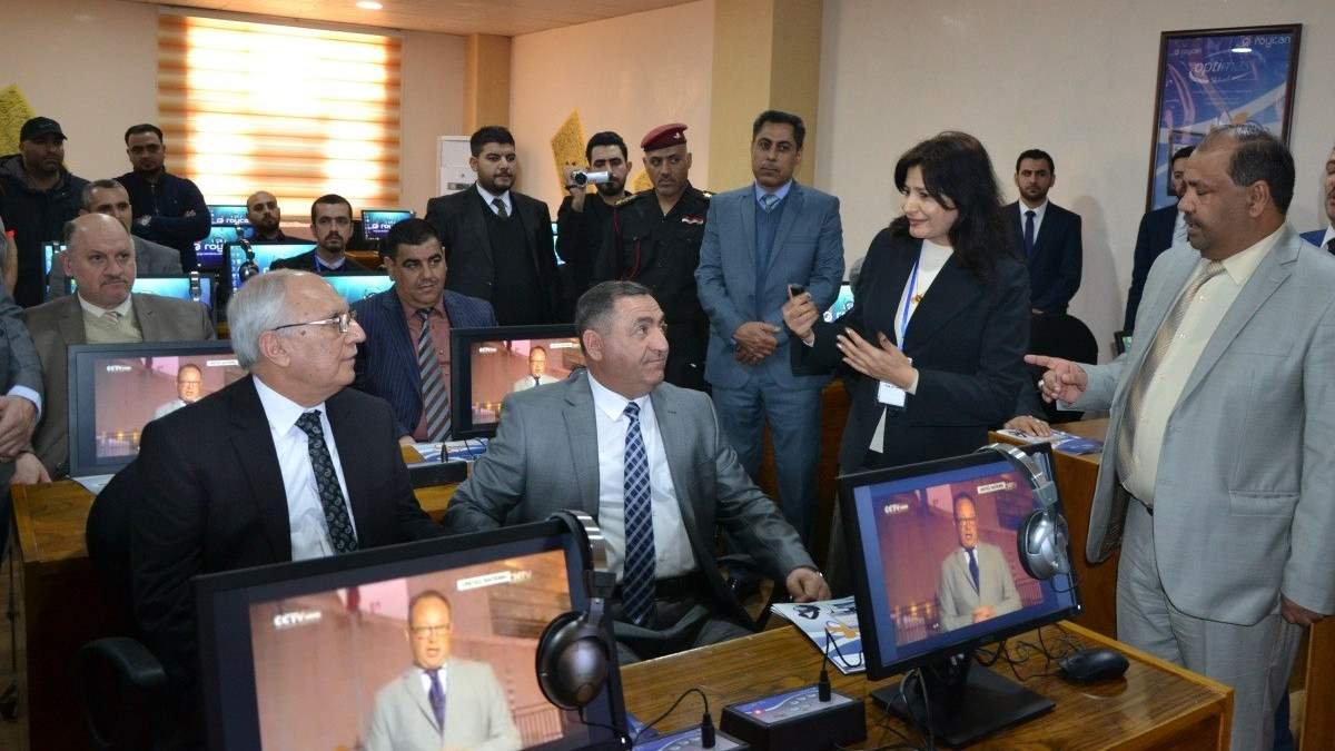 <strong>Roycan</strong> has installed its first Language Lab in <strong>Iraq</strong>.