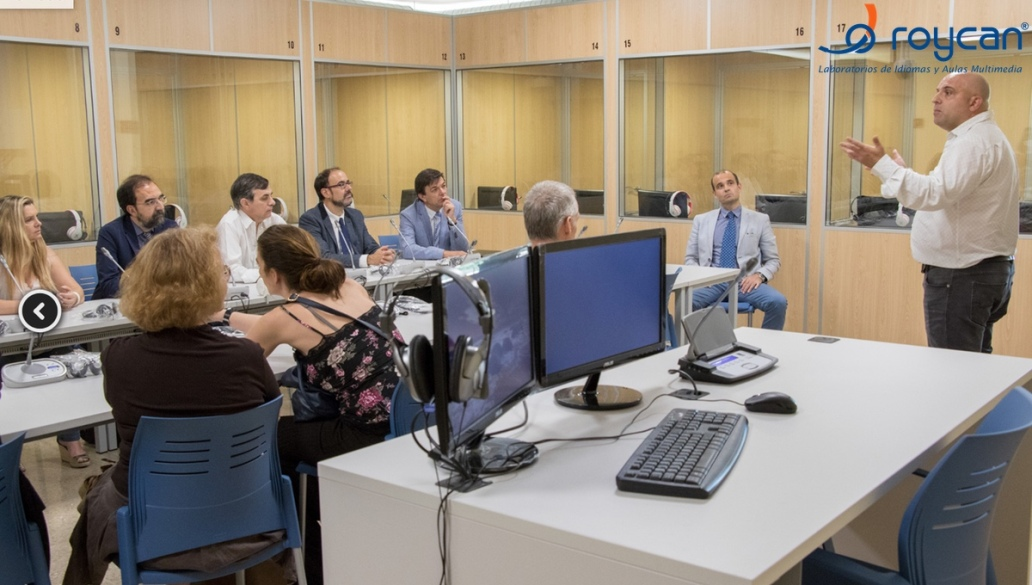 Roycan installs a new Interpretation Laboratory at the Faculty of Philology in Madrid.
