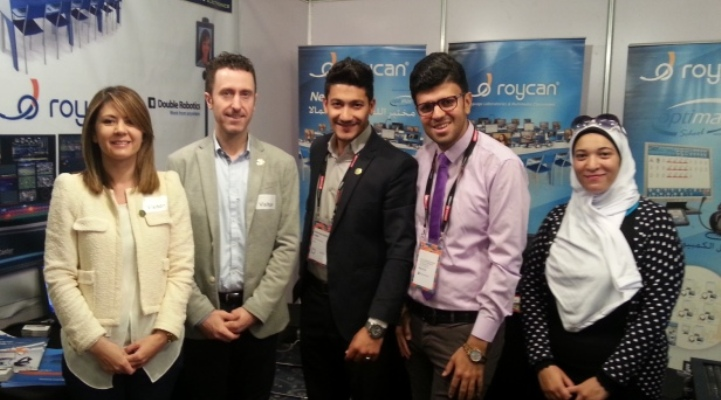 Roycan attends Africa`s biggest New Technologies Fair.