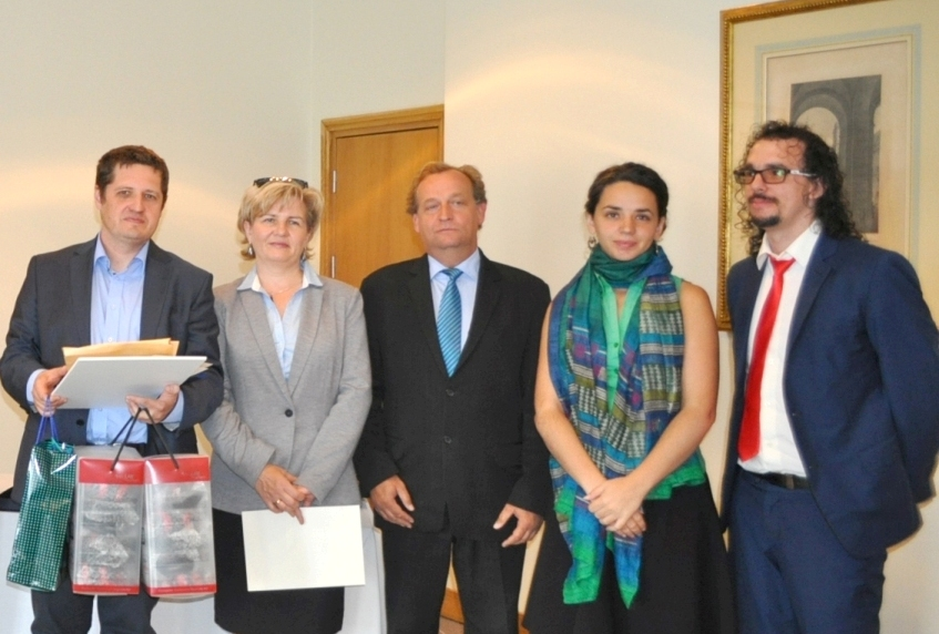 Roycan sponsors the awards of the Spanish Embassy in Poland.
