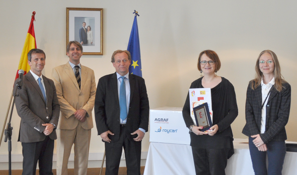 <strong>Roycan</strong> sponsors the <strong>awards of the Spanish Embassy</strong> in <strong>Poland</strong>.