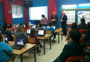 The Lamas de Abade School from La Coruña has a new Roycan Language Laboratory